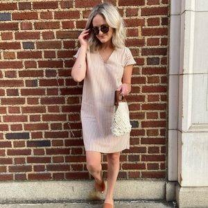 Madewell Striped Shift Dress